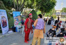تئاتر نمایشی فرآموز نفس پاک در بوستان معلم