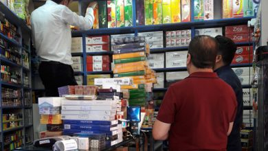 گشت مشترک عرضه دخانیات در شمیرانات