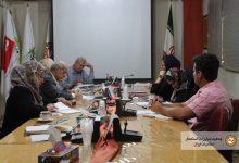 ارائه گزارشات  فعالیت ها انجام شده و اهداف جمعیت در جلسه مدیران جمعیت مبارزه با استعمال دخانیات ایران