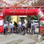 مسابقه دوچرخه سواری پارک ترافیک