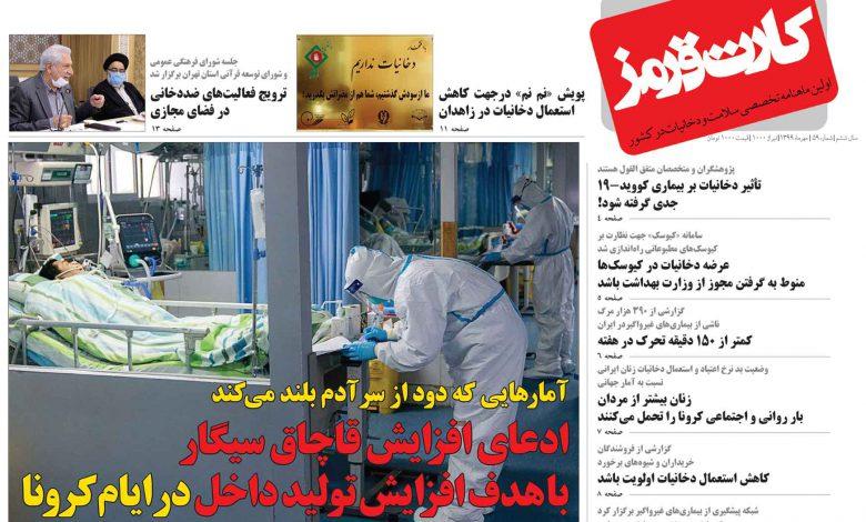 Photo of نشریه کارت قرمز شماره ۵۹